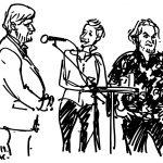 Søren Søndergaard, Ane Cortzen og Anders Laursen